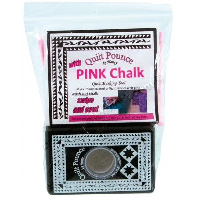 Quilt Pounce Pad, Pink Chalk