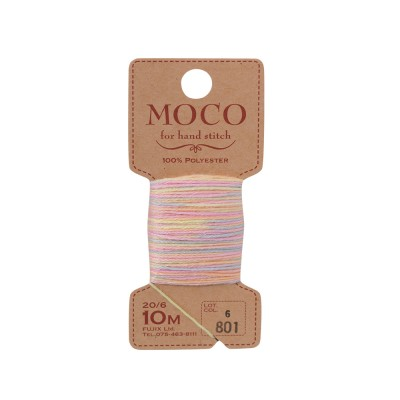 MOCO Variegated Color Hand Stitching Thread: 20/6