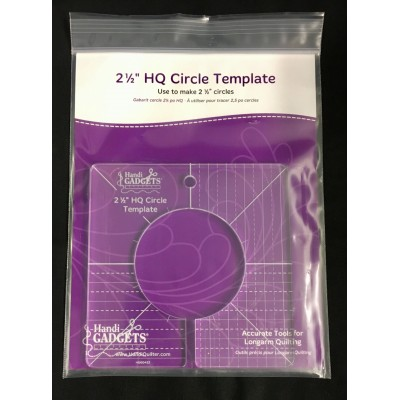 HQ 2,5-inch Circle Template